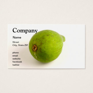 Green Fig Business Card
