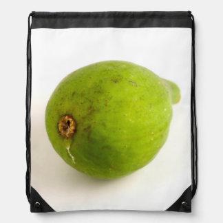 Green Fig Drawstring Backpack