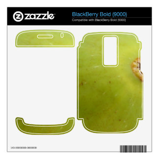 Green Fig BlackBerry Bold Decal