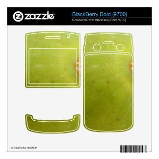 Green Fig BlackBerry Bold 9700 Skin