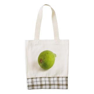 Green Fig Zazzle HEART Tote Bag