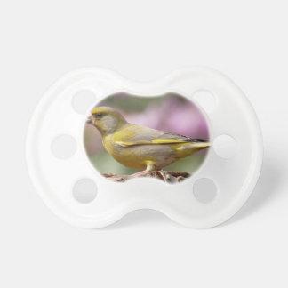Green Finch BooginHead Pacifier