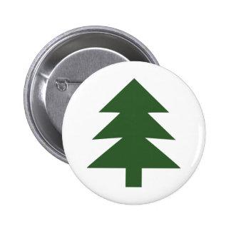 green fir tree pins
