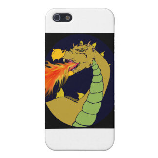 Green Fire Breathing Dragon iPhone SE/5/5s Cover