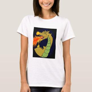 Green Fire Breathing Dragon T-Shirt