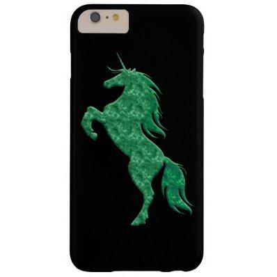 Green Fire Unicorn iPhone 6 Case