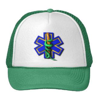 Green First Responder Trucker Hat