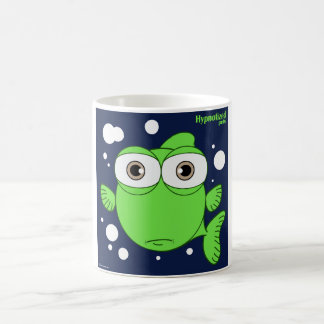 Green Fish 11 oz Classic White Mug
