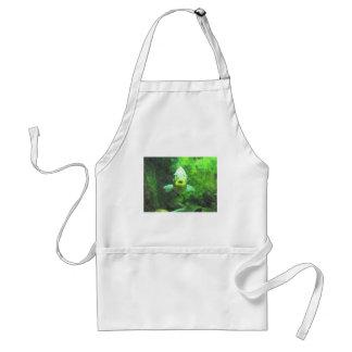 Green Fish Adult Apron