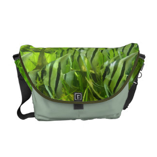 Green Fish Courier Bag