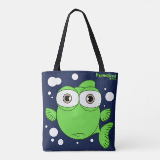 Green Fish Custom All-Over-Print Tote Bag