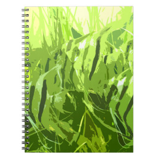 Green Fish Note Book