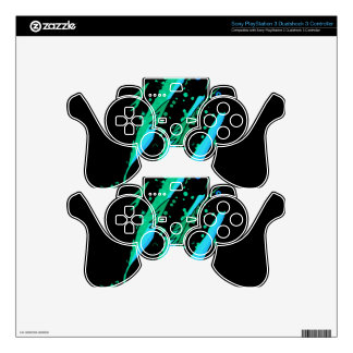 Green fish PS3 controller skins