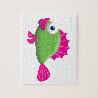 GREEN FISH PUZZLE
