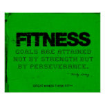 Green Fitness Poster - Motivation!