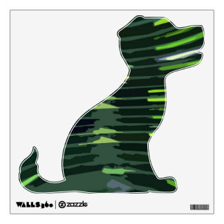 Green Flair : Puppy Dog Wall Decal