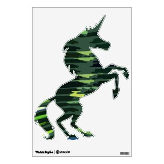 Green Flair : UNICORN Wall Sticker