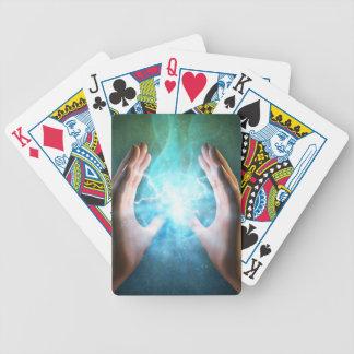 Green flame  powerful healing hands card deck
