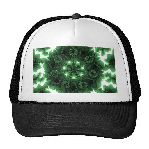 Green Flames Trucker Hat