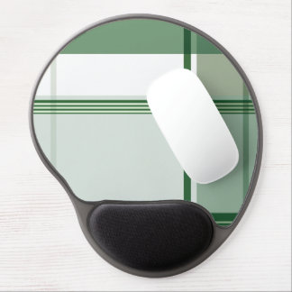 Green Flannel 1 Gel Mouse Pad