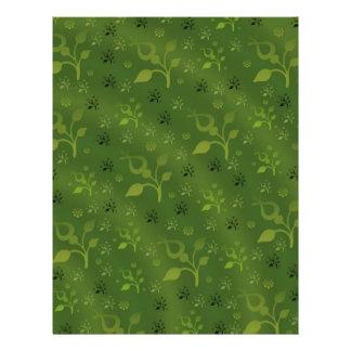 Green floral mix flyer