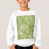 green floral sweatshirt