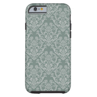 Green floral wallpaper iPhone 6 case