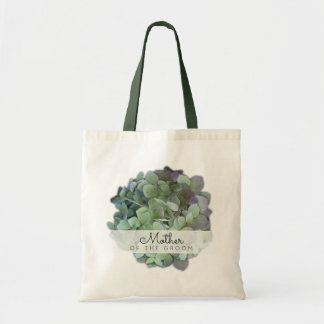 Green Floral Wedding Mother of the Groom Tote Bag