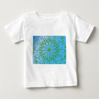 GREEN FLOWER BABY T-Shirt