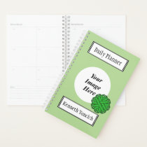 Green Flower Ribbon by Kenneth Yoncich Planner