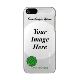 Green Flower Ribbon Template Incipio Feather® Shine iPhone 5 Case