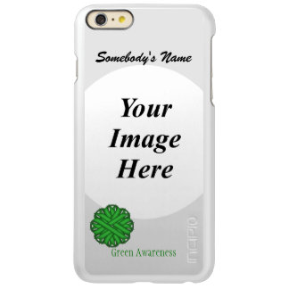 Green Flower Ribbon Template Incipio Feather® Shine iPhone 6 Plus Case