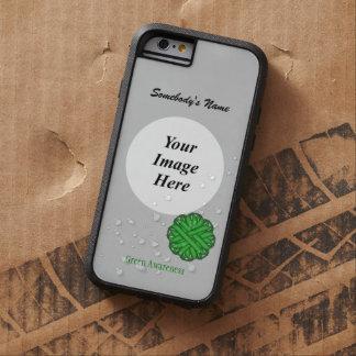 Green Flower Ribbon Tmpl by Kenneth Yoncich Tough Xtreme iPhone 6 Case
