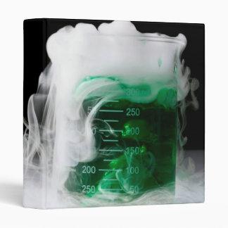 Green Fluid Beaker Vinyl Binders