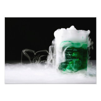 Green Fluid Beaker Photo
