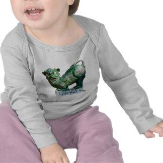 Green Foo Dog T-shirt