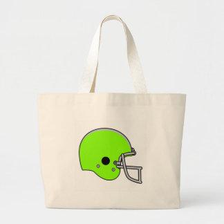 green football logo canvas bag