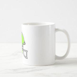 green football logo mug