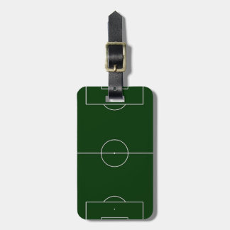 green football stadium tag for bags