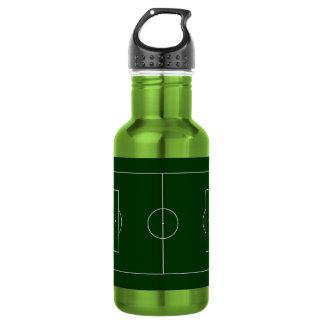 green football stadium 18oz water bottle
