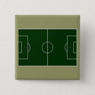 green football stadium pinback button