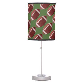 Green Football Table Lamp