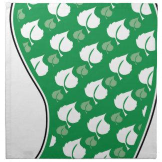 Green Footprint Napkins