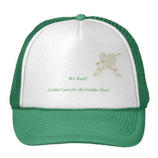 Green for general public cap hats