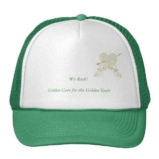 Green for general public cap trucker hat