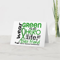 Green For Hero 2 Best Friend Kidney Disease Card