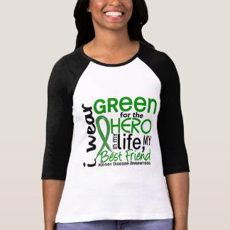 Green For Hero 2 Best Friend Kidney Disease T-Shirt