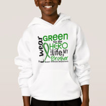 Green For Hero 2 Brother Kidney Disease Hoodie