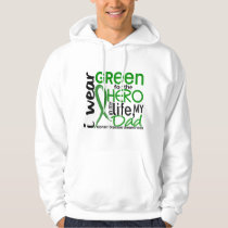 Green For Hero 2 Dad Kidney Disease Hoodie
