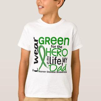 Green For Hero 2 Dad Kidney Disease T-Shirt